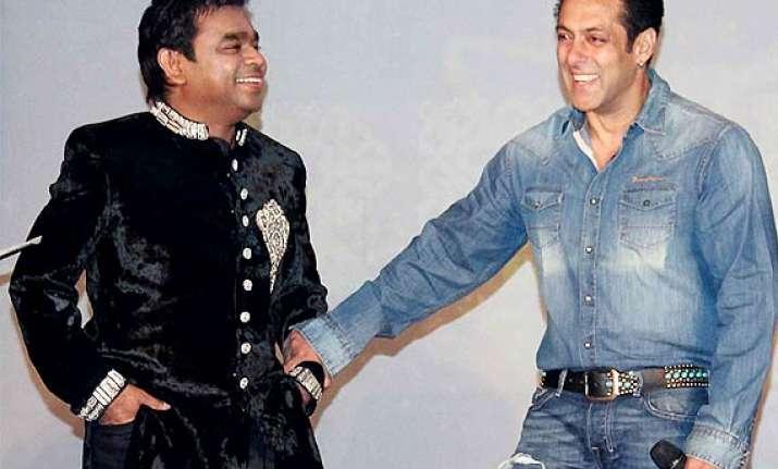 salman khan a r rahman to reunite bonds at an event see pics