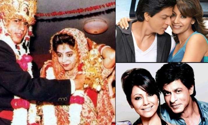 shah rukh khan and gauri khan s love story see rare pics