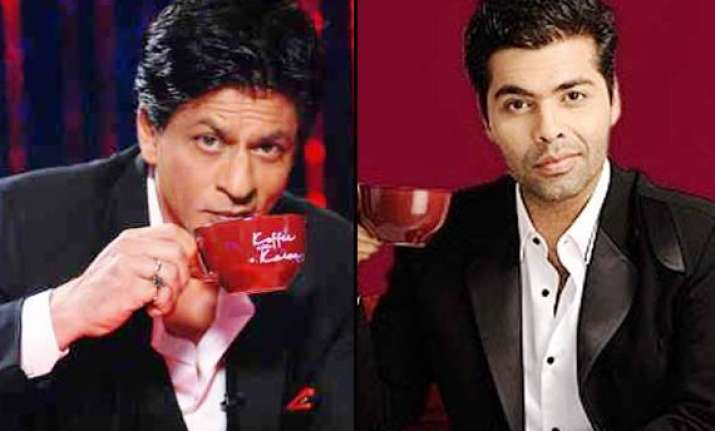 koffee with karan not shah rukh khan but sunny leone in the