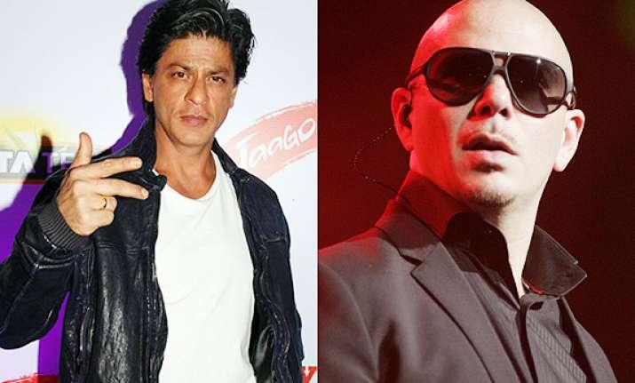 after priyanka shah rukh khan keen to work with pitbull