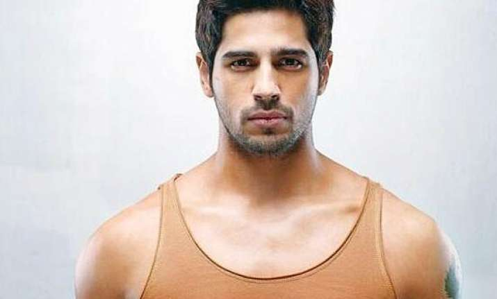 sidharth malhotra done with ek villain shoot