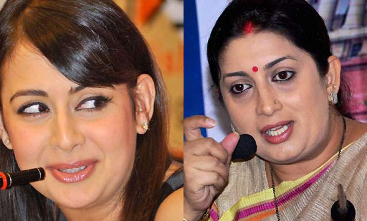 preeti jhangiani comes to the rescue of new hrd minister