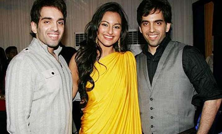 sonakshi to work with brothers luv and kush for an ad film