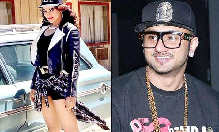 sonakshi sinha to do hip hop with yo yo honey singh in the