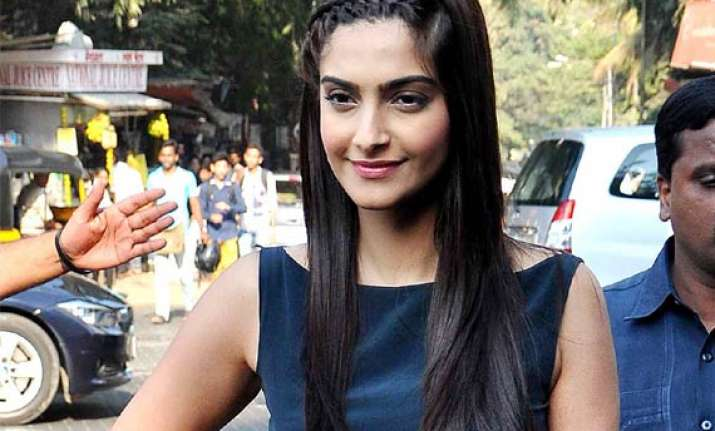 sonam kapoor nervous for brother