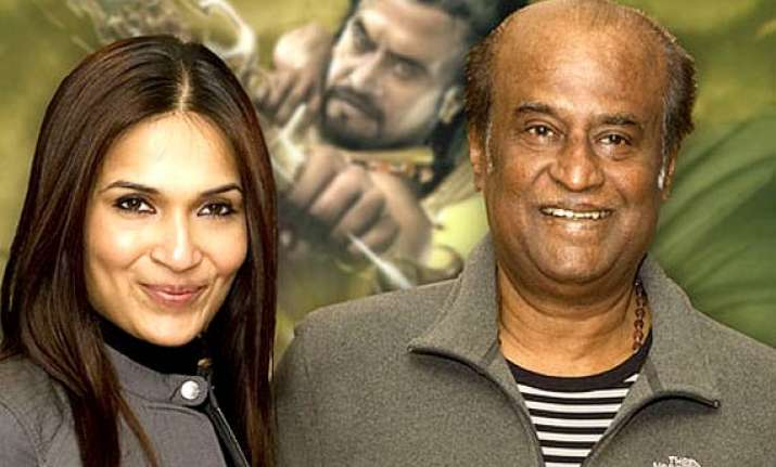 soundarya is confident that she will make father