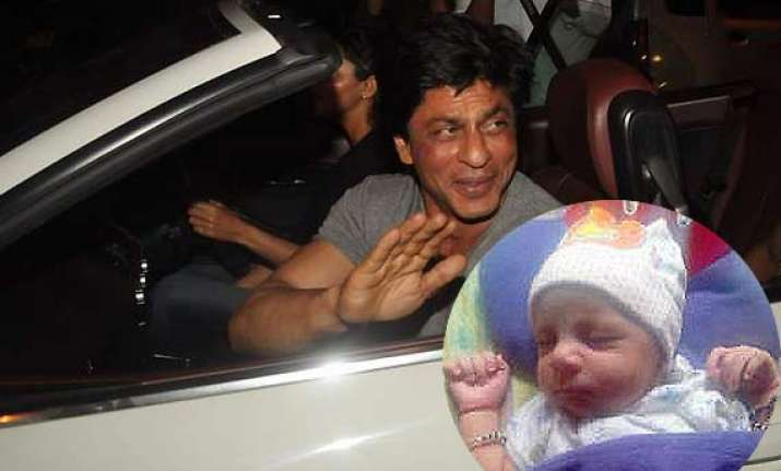 shah rukh khan tweets about his long drive with son abram
