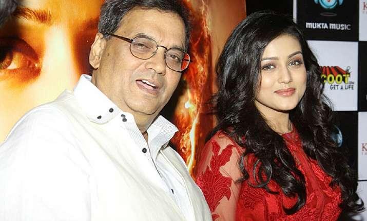 subhash ghai blames newcomer mishti for kaanchi s initial