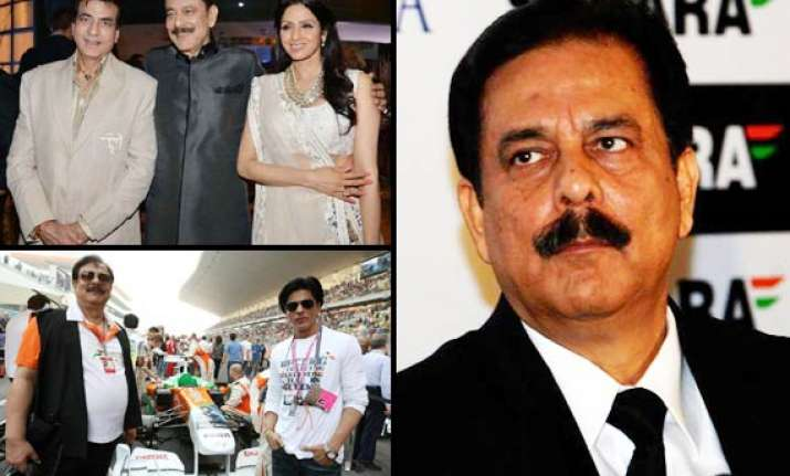 bollywood supports subrata roy faces rage from the media