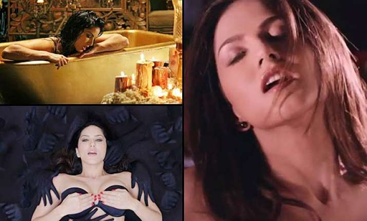 sunny leone s sexy performance in orgasm sequence from