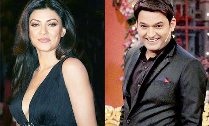 comedy nights with kapil sushmita sen to appear and have