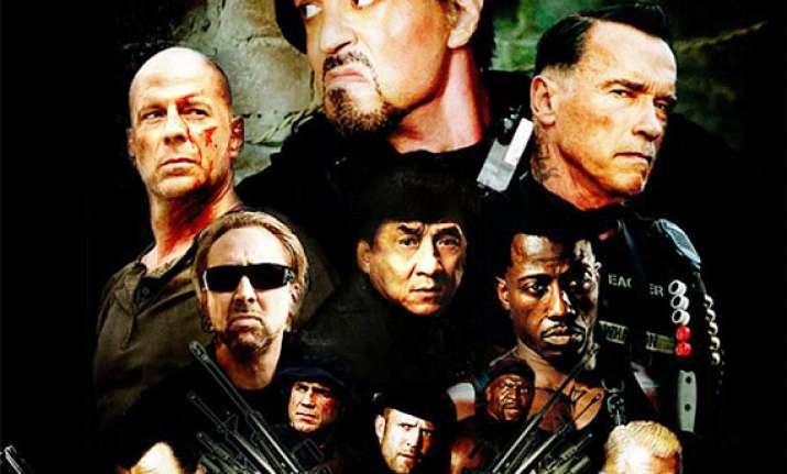 the expendables 3 to release as 14 khiladi in hindi