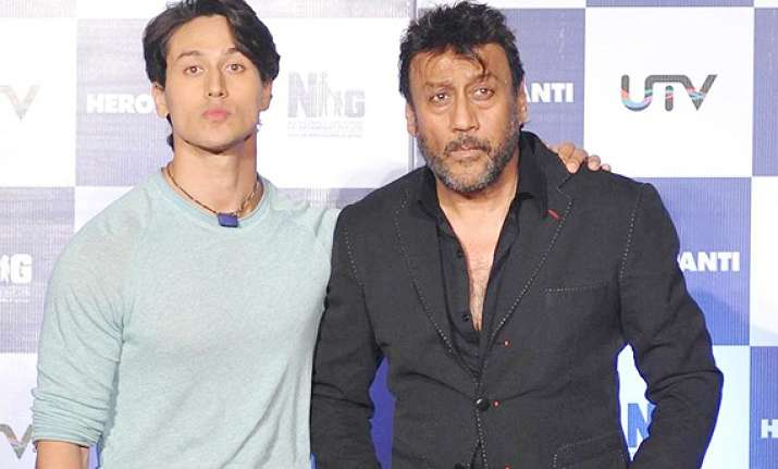 tiger shroff reveals why father jackie didn t act with him