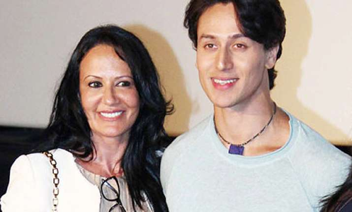 tiger shroff s mother comes for son s defense slams