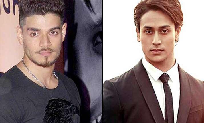 bollywood s new friends sooraj pancholi and tiger shroff
