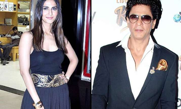 not katrina but vaani kapoor to romance shah rukh in raees