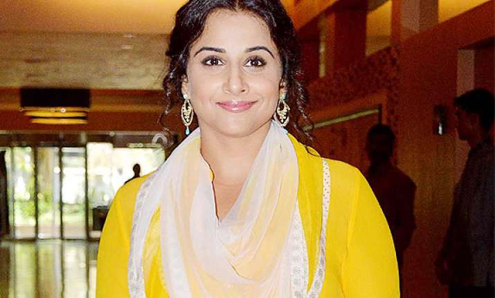 romance has no age bar says vidya balan