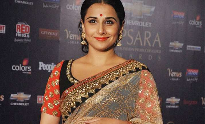 is vidya balan returning to tv