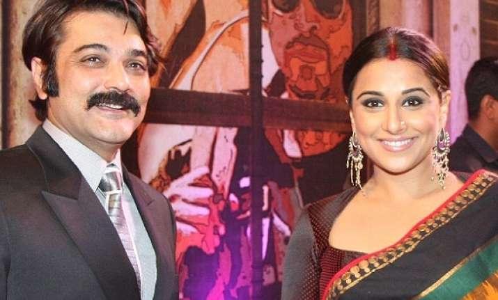 vidya wants to act in bengali film opposite prosenjit