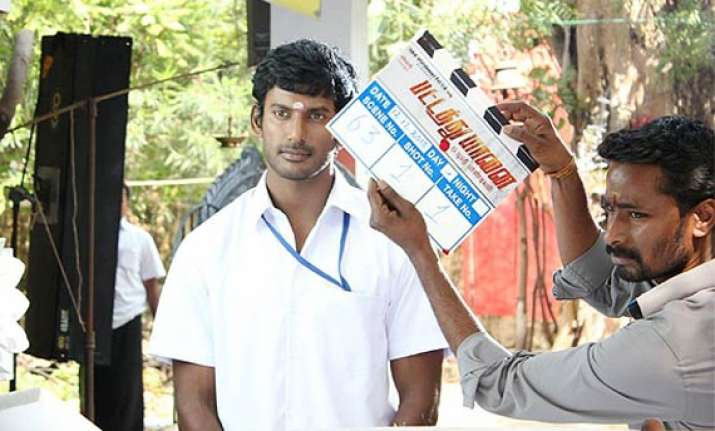 vishal s poojai slated for diwali release