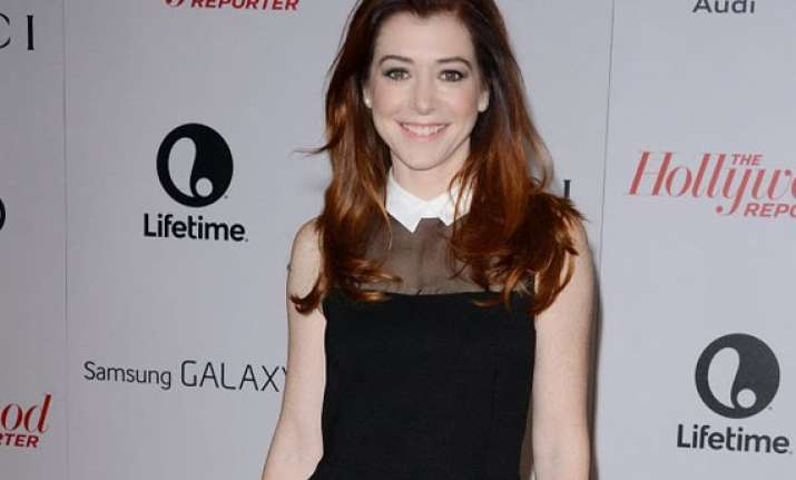 alyson hannigan joins more time with family
