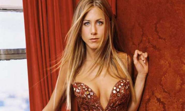 aniston installed stripper pole at home for role