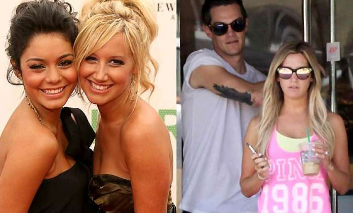 ashley tisdale getting married friend vanessa hudgens