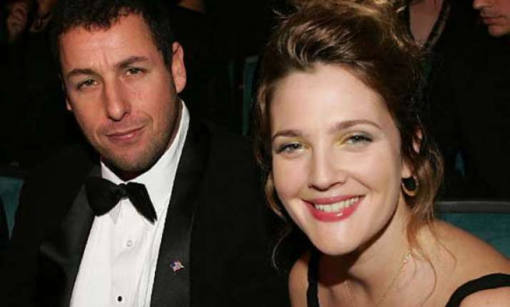 barrymore keen on more films with sandler