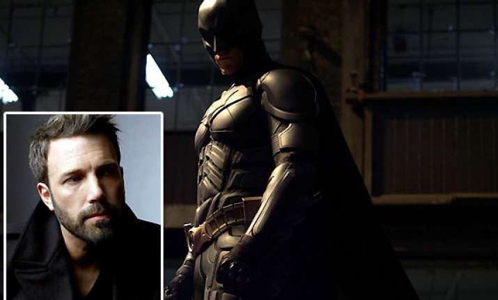 ben affleck is new batman