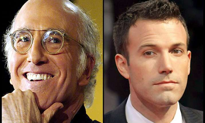 affleck wants larry david in man of steel sequel