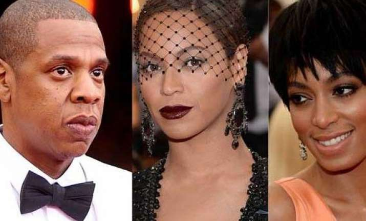 beyonce knowles breaks silence on jay z solange s fight