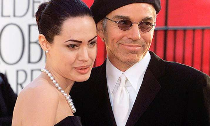angelina jolie still in touch with ex husband billy bob