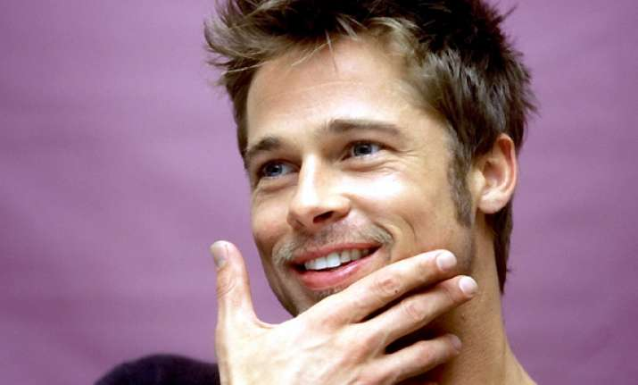brad pitt avoids chemical based products for cleansing