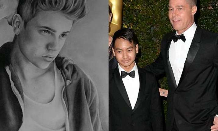 anything for love daddy brad pitt buys justin bieber