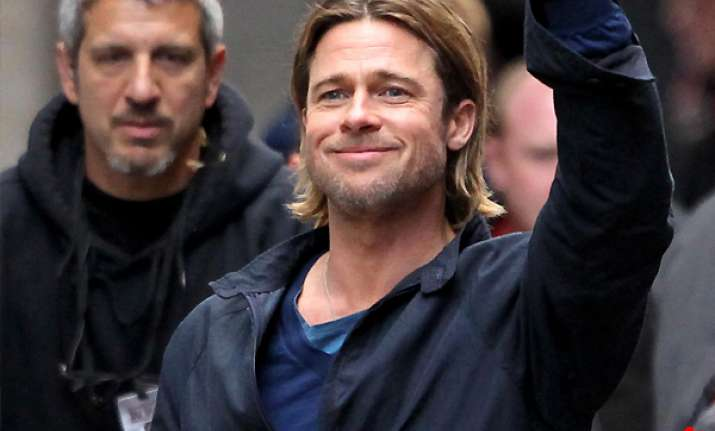 brad pitt rescues woman while filming world war z