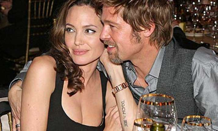 brangelina ranked third richest couple by forbes