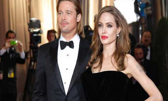 brangelina s party sparks wedding rumours