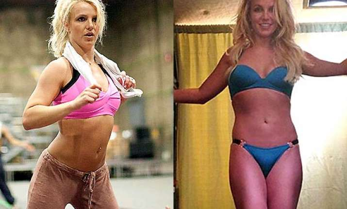 britney turns back to old school routine for fitness