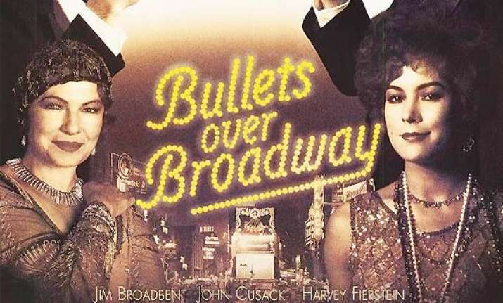 bullets over broadway musical fails to impress critics