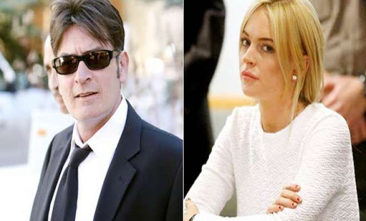 charlie sheen lindsay lohan are ungrateful actors betty