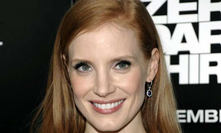 chastain goes public with her love