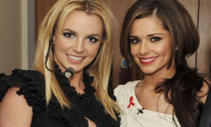 cheryl cole to sing with britney spears
