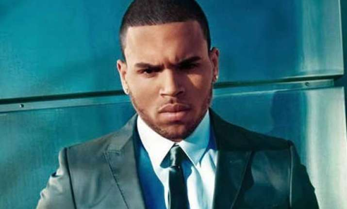 chris brown s modelling agency threatened