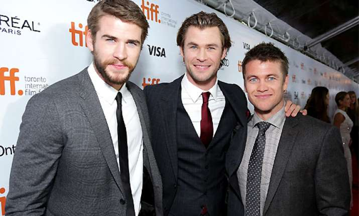 chris liam and luke hemsworth share love hate relationship