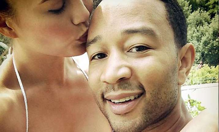 chrissy teigen finds husband john legend very romantic