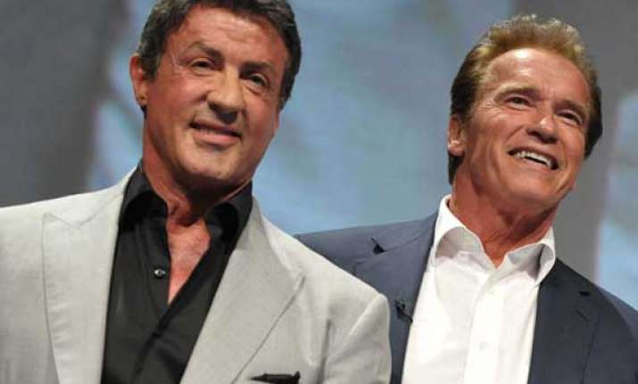competition with stallone gave way to respect schwarzenegger