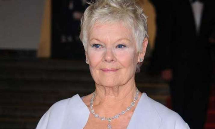 dame judi dench all fine for movie premiere