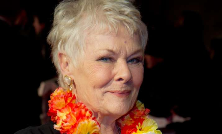 dame judi dench bewitched by india