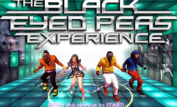 dance with black eyed peas in new game