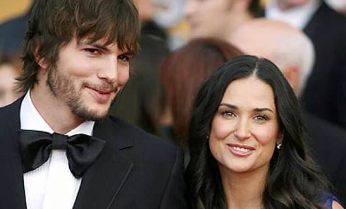 demi moore to appear in film with husband ashton kutcher